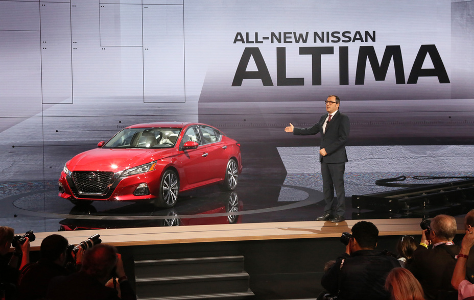 2019 Nissan Altima Revealed In New York