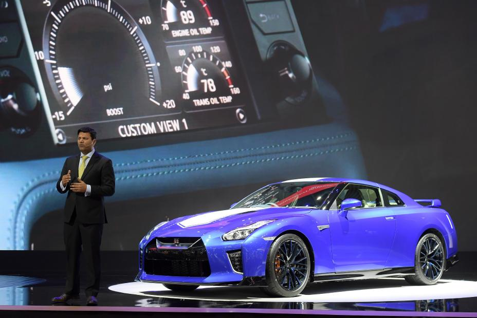 Nissan Gt R 50th Anniversary Edition Debuts In Thailand At 36th International Motor Expo 2019