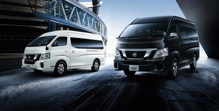 「NV350キャラバン」のバン、マイクロバスに2.5Lガソリンエンジン搭載の4WD車を追加 - 日産自動車ニュースルーム