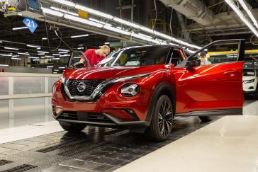 Nissan Juke production