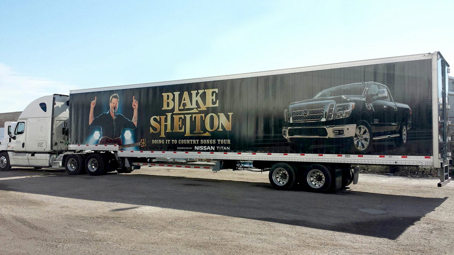 Nissan partners with Blake Shelton to bring its American