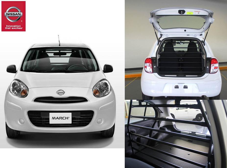 Nissan presenta el March Cargo: Un vehículo diseñado para ...