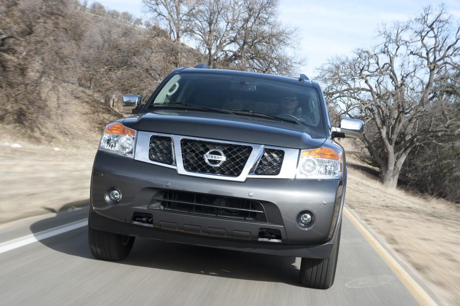 2012 Nissan Armada Press Kit