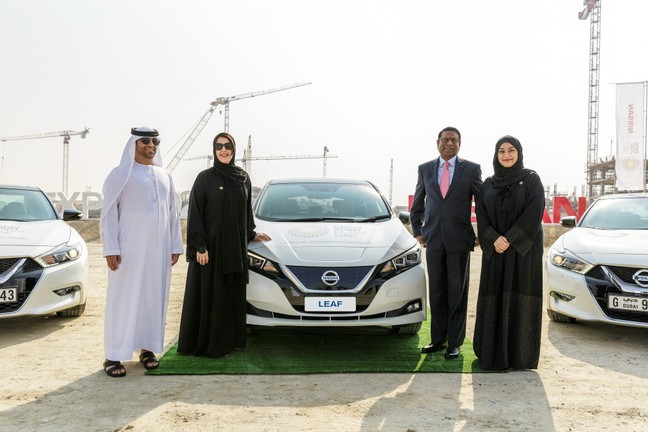 Nissan and Expo 2020 Dubai partner to shape the future of ...