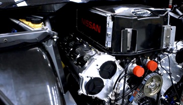 Todd Kelly gives the inside story behind the Altima V8 Supercar engine