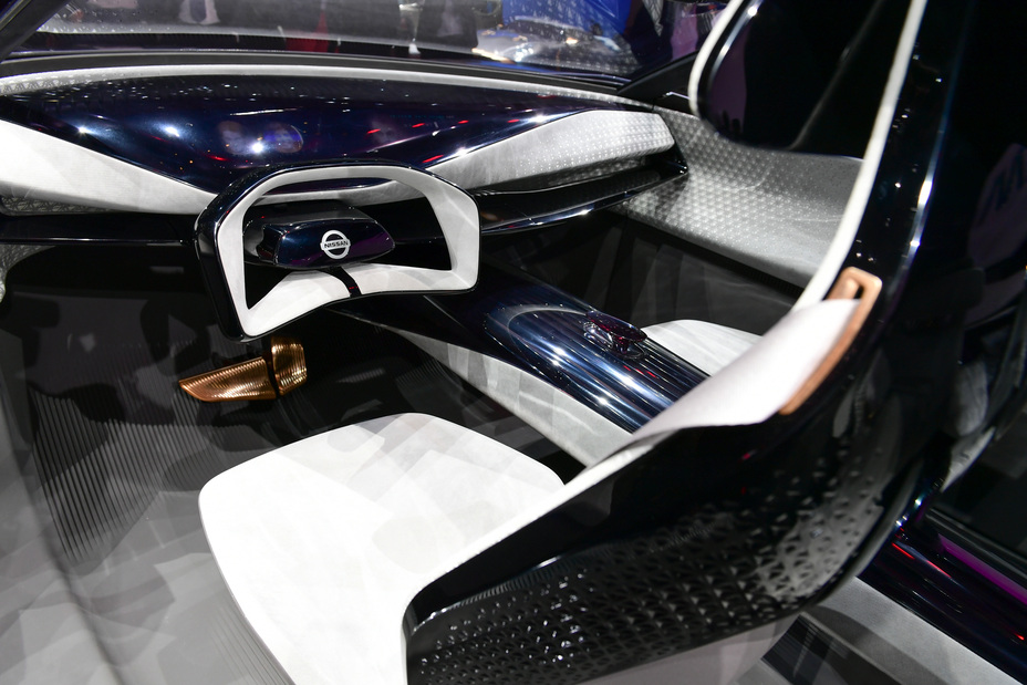 Nissan At Geneva Motor Show 2019 Imq Concept Car Interior