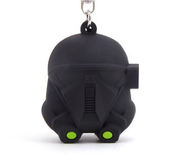 New Nissan Exclusive Star Wars Rogue One Death Trooper Keychain.