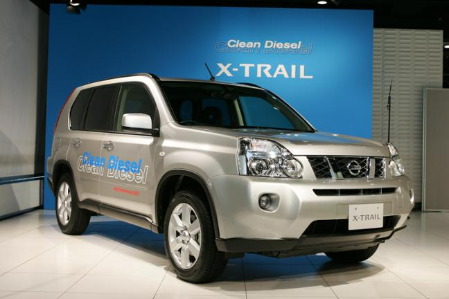 Nissan Releases New Clean Diesel X-TRAIL