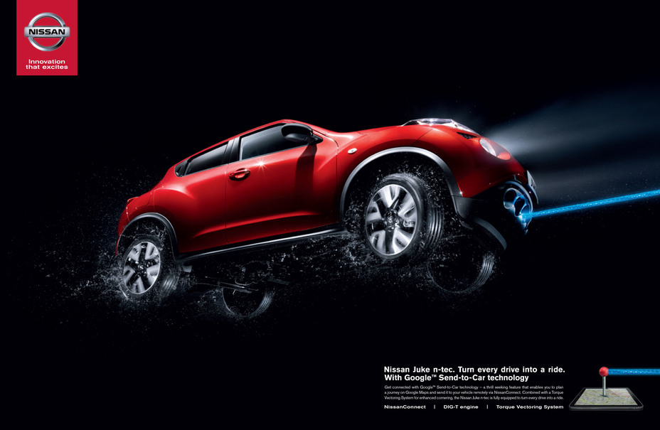 NISSAN LAUNCHES NEW EUROPEAN CAMPAIGN FOR NISSAN JUKE