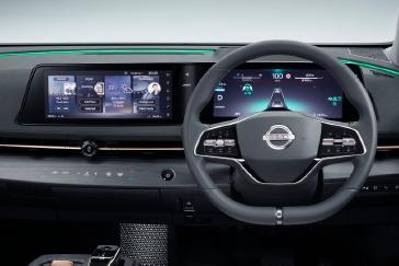 Nissan Ariya Interior Image_ Hands on drive mode view 2