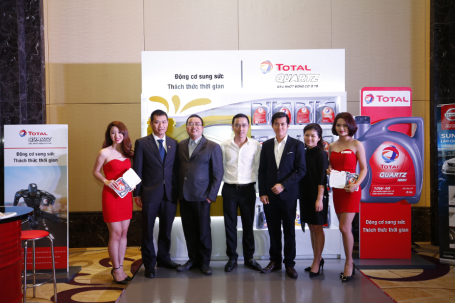 Total Vietnam officially launches the exclusive engine oil