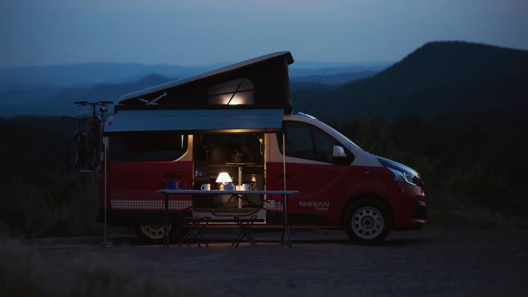 Nissan camper van conversions displayed in Hannover ...