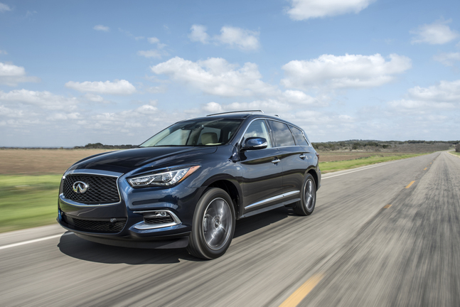 2016 Infiniti QX60 earns Top Safety Pick+ award from ...