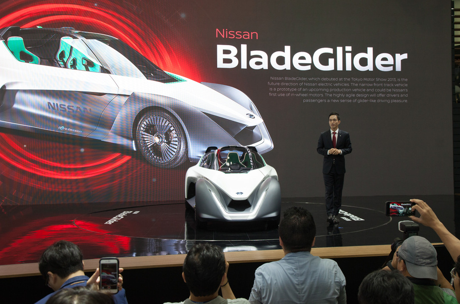 Nissan unveils 2018 X-Trail and BladeGlider at Busan motor ...