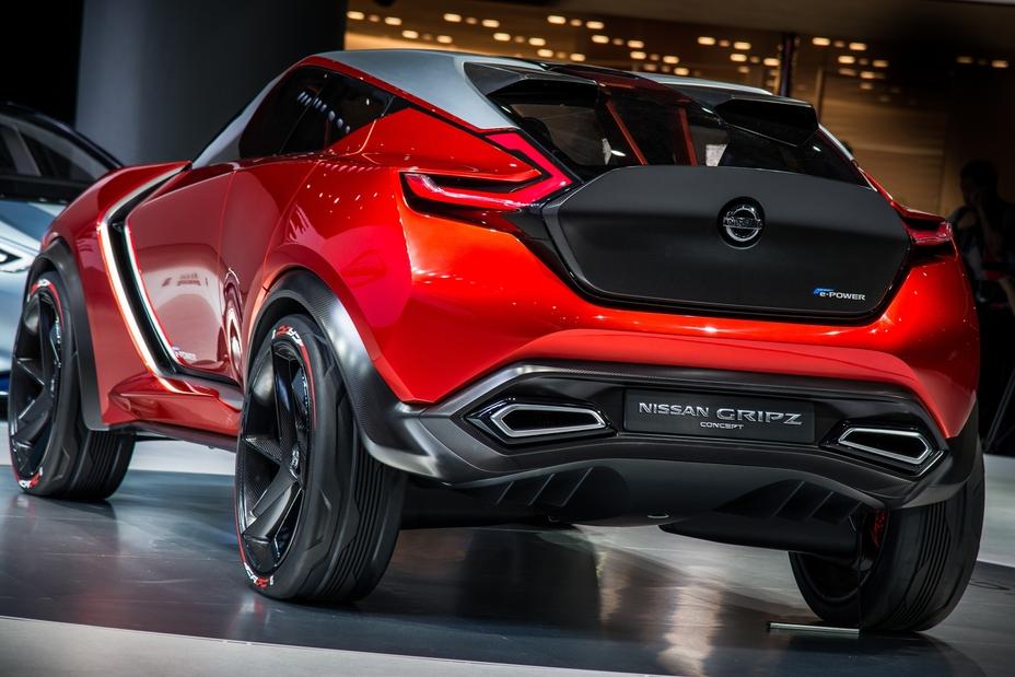 Nissan Gripz Concept hace su debut en el Auto Show de ...