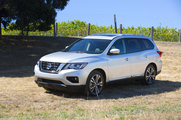 2018 Nissan Pathfinder Press Kit