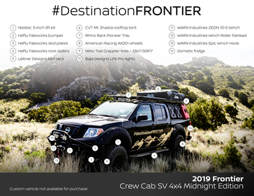 nissan s destination frontier provides blueprint for affordable high quality overlanding experiences and adventures destination frontier provides blueprint