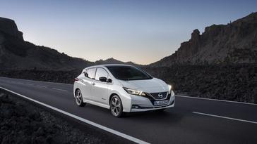 Nissan LEAF tops electric car sales in Europe