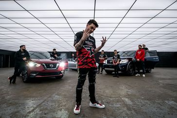 Nissan partners with esports teams FaZe Clan and OpTic Gaming