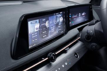 Nissan Ariya Interior_ 12.3 inch twin display