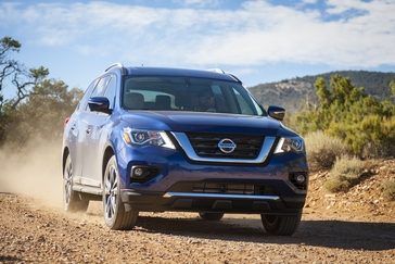2017 Nissan Pathfinder Press Kit