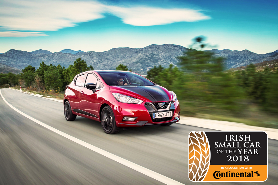 All New Nissan Micra Crowned Irish Small Car Of The Year 2018
