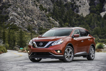 2018 Nissan Murano Press Kit