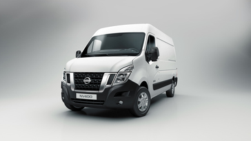 Wereldpremiere Bedrijfsauto Nissan Nv400 Op Iaa Hannover